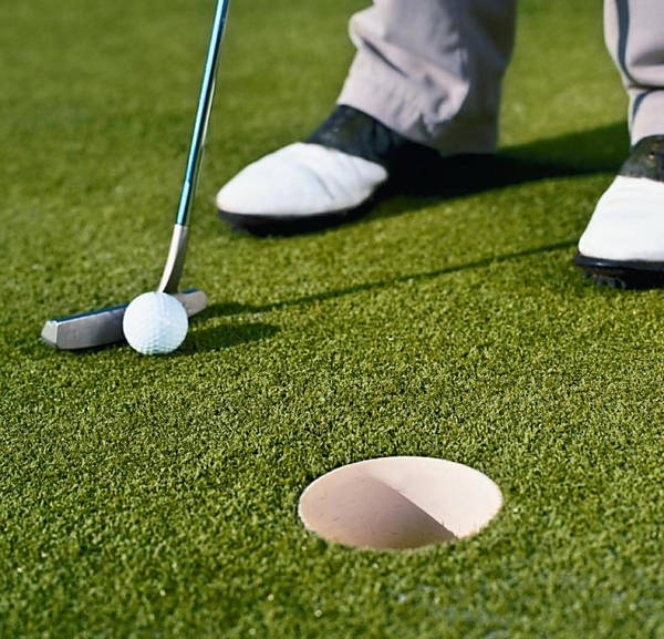 Artificial Turf Putting Green Installation in Chula Vista, Top Rated Synthetic Grass Golf Putting Green