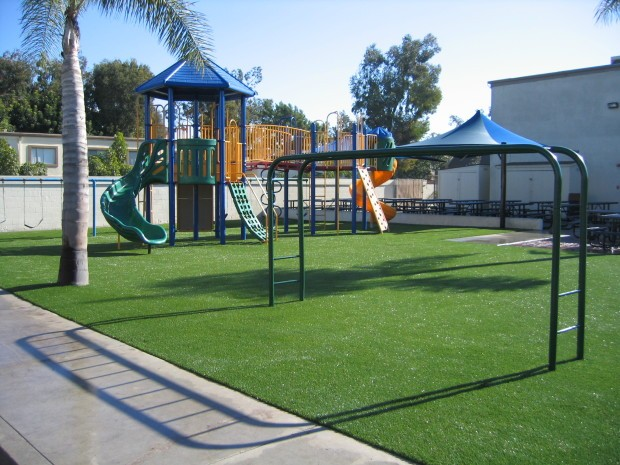 Synthetic Turf Playground Installation Chula Vista, Artificial Grass Playground Company