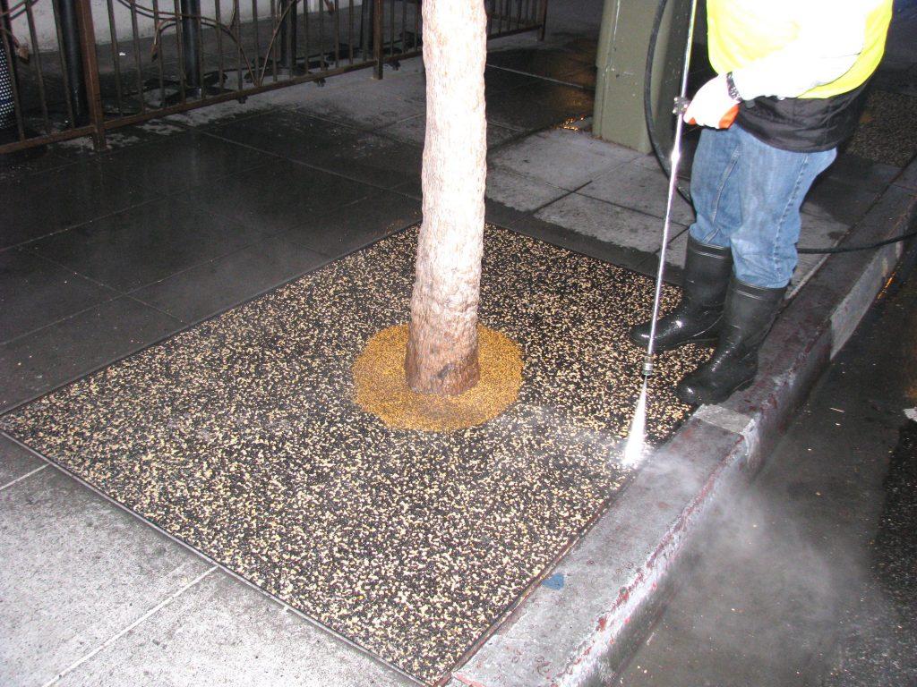 Tree Well Maintenance Service Chula Vista, Porous Tree Well Install Chula Vista